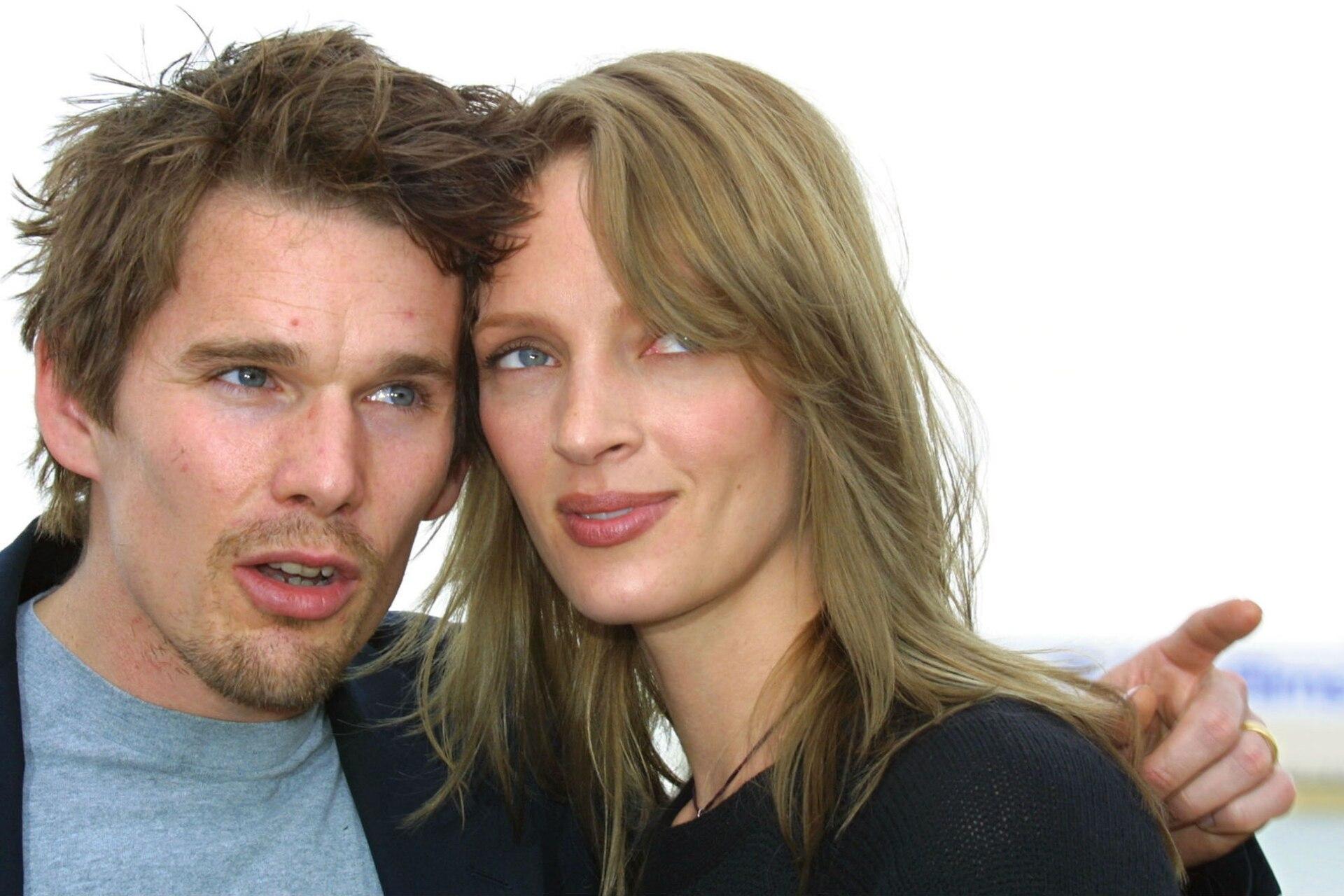 Hawke y Thurman se divorciaron en el año 2005; tienen dos hijos en comun: Maya y Levon