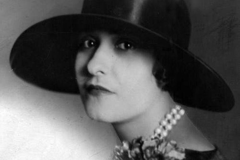 En 1929, cuando su romance con Julián Martínez era un recuerdo.