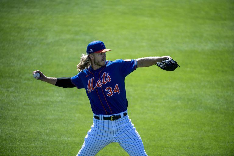 El lanzador de los Mets de Nueva York Noah Syndergaard