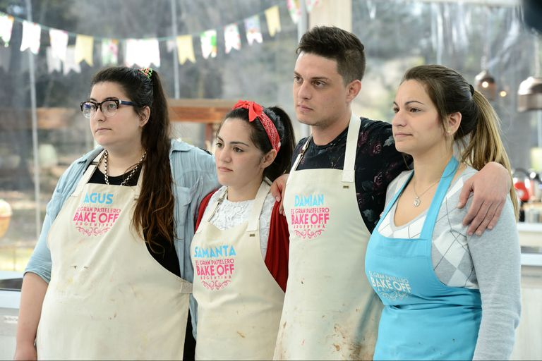 Agus, Samanta, Damián y Agustina, semifinalistas de Bake Off