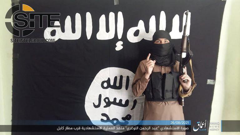 SITE difundió una imagen del presunto atacante suicida del grupo Estado Islámico