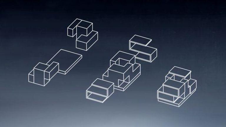 La casa es como un tetris. Foto: ESTUDIO OBA