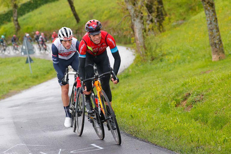 Landa era uno de los favoritos del Giro, pero se fue anticipadamente con una clavícula y cinco costillas fracturadas.