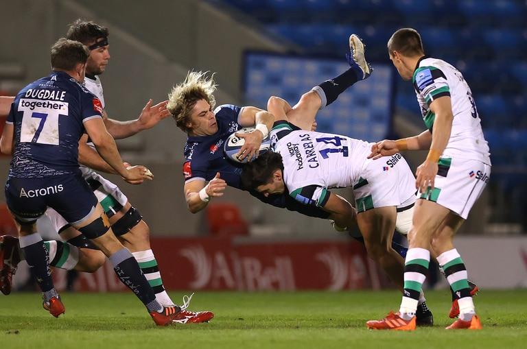 Rugby. El tackle de un argentino para frenar a una estrella y campeón mundial