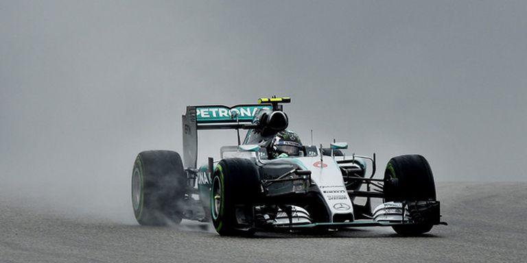 Rosberg marcó el mejor tiempo en los ensayos