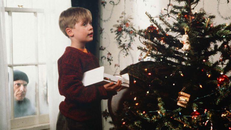 Macaulay Culkin en la gran película escrita por John Hughes