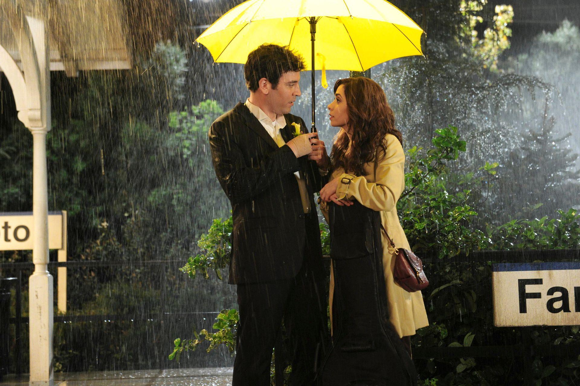 How I Met Your Mother y el famoso paraguas amarillo