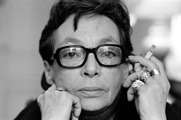Marguerite Duras, retratada por Jacques Haillot