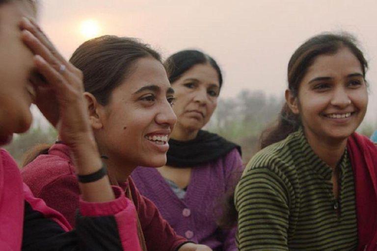 Las mujeres indias protagonistas del corto