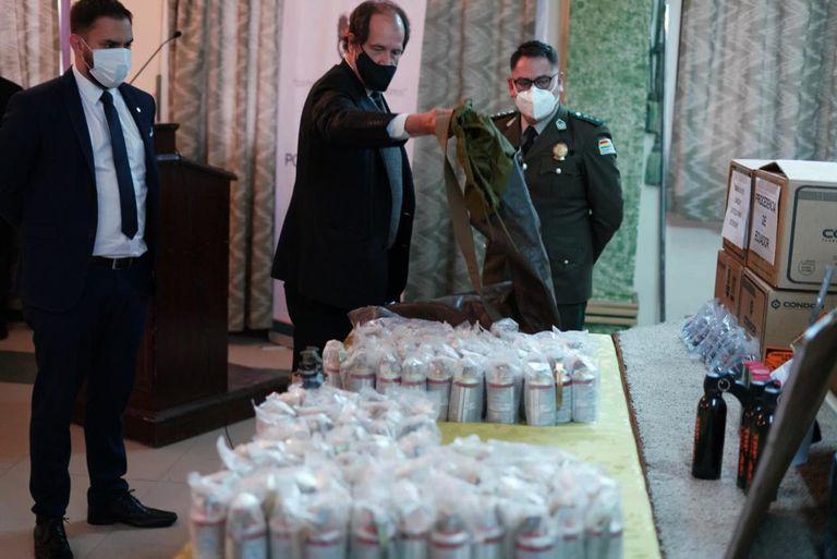 El gobierno de Fernández extendió dos veces la autorización de las 70.000 municiones en Bolivia
