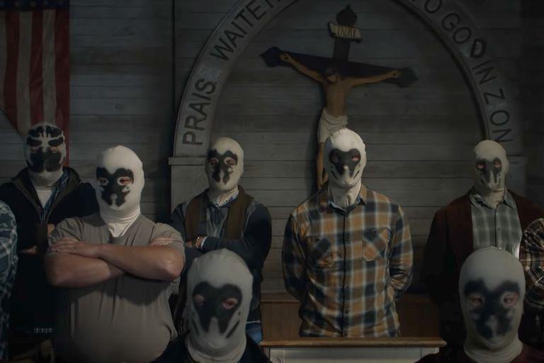 Una escena del primer avance de Watchmen