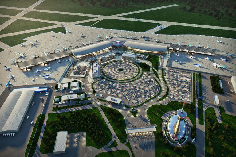 Con la nueva traza, aumentará cuatro veces la superficie de Ezeiza, que pasará de los 58.400 m2 actuales a 217.230 m2