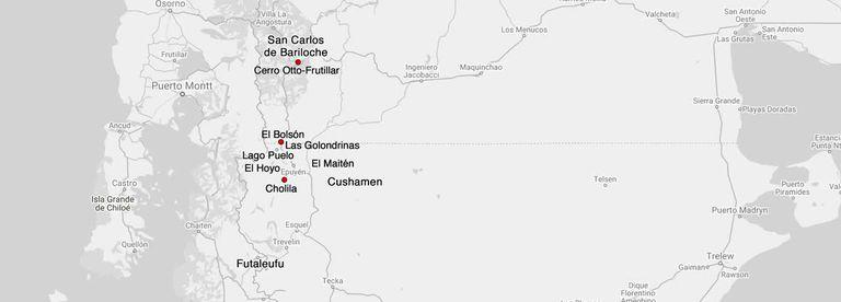 Algunos focos avanzaron sobre parajes de Lago Puelo y sobre zonas semiurbanas de El Hoyo.