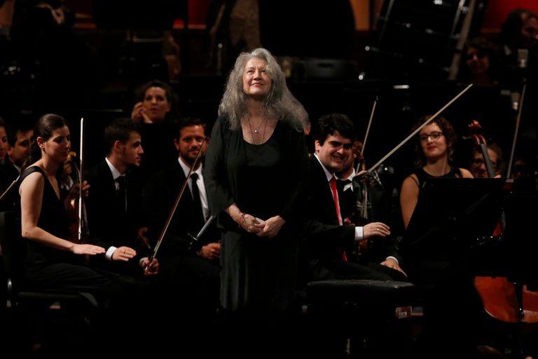 A los 80, Martha Argerich cada día toca mejor