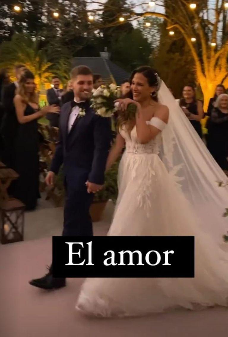 El casamiento de Barbie Vélez y Lucas Rodríguez