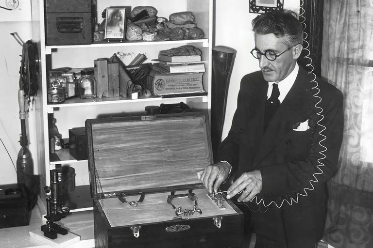 Baigorri Velar, el geofísico que aseguró haber inventado una máquina que producía lluvia