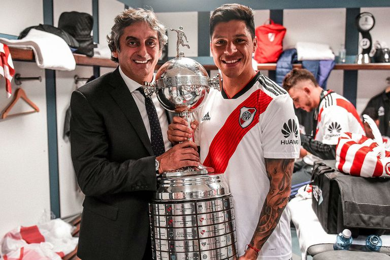 La emoción de Francescoli en un video para Enzo Pérez por sus 3 años en River