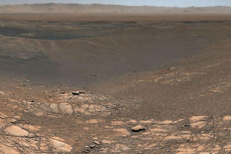 La foto fue tomada por el Rover Curiosity