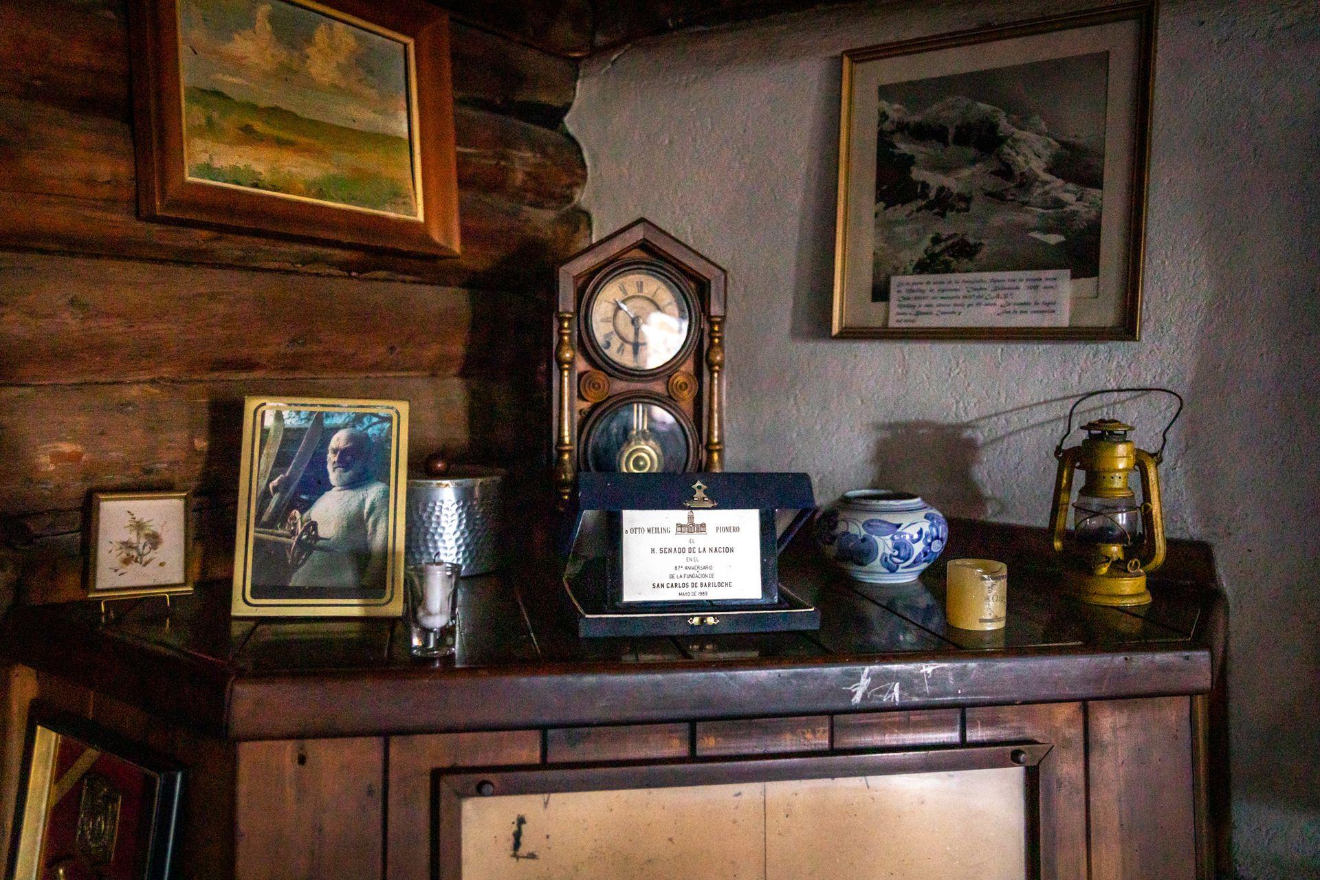 La casa de Otto Meiling se conserva tal como él la tenía cuando murió, en 1989.