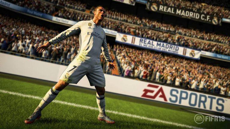 Cristiano Ronaldo será la cara del FIFA 18