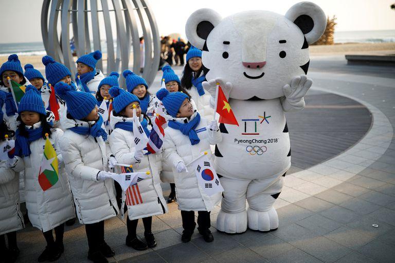 Medallas, gastos, clima, mascota: siete datos clave de los Juegos de Pyeongchang