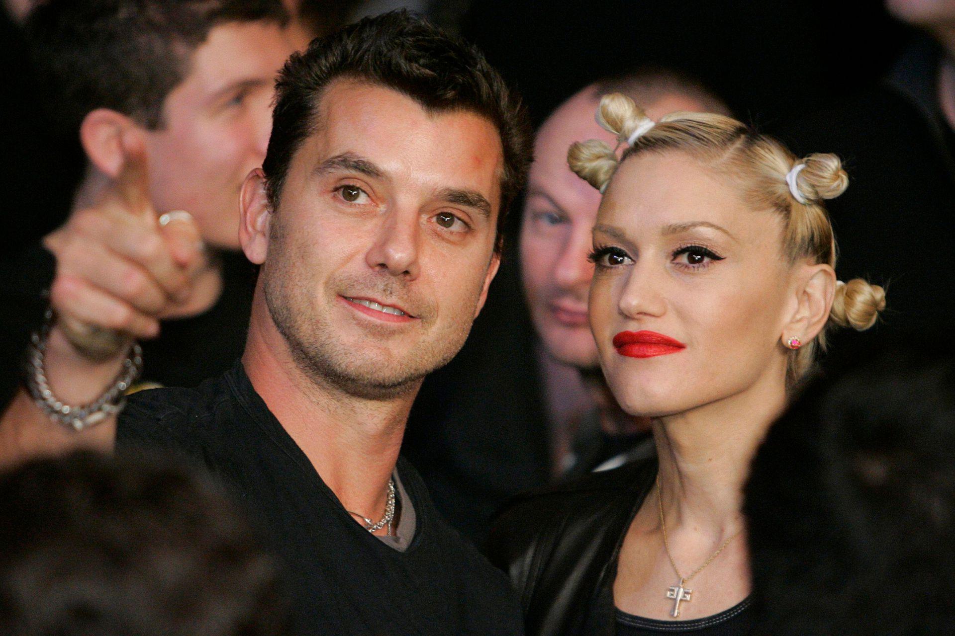 Así se los veía en 2007: eran una de las parejas rockeras preferidas