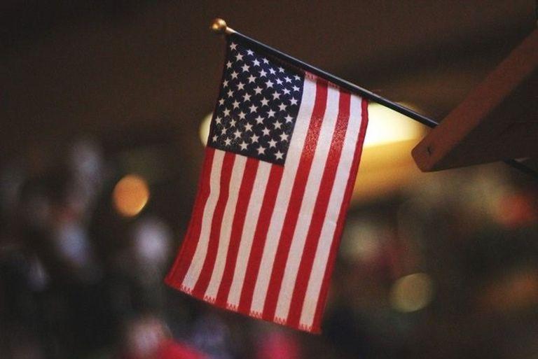 26-07-2019 Bandera de EEUU NORTEAMÉRICA ESTADOS UNIDOS POLÍTICA TWITTER
