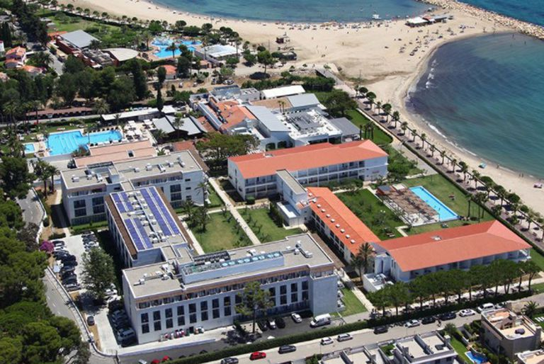 Vista aérea del Hotel Estival Eldorado, en Tarragona España