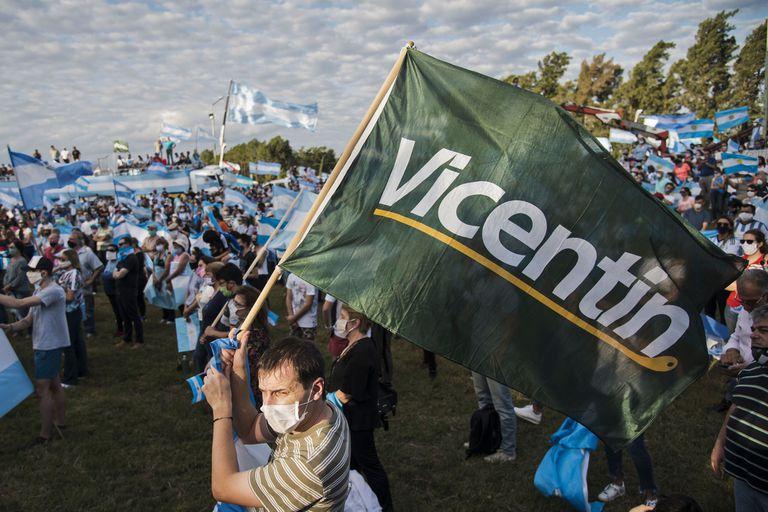 """El """"banderazo"""" contra la estatización de Vicentin provocó un cambio de clima en el Congreso"""