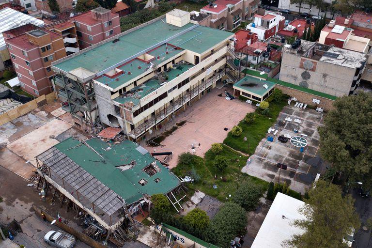 Terremoto en México: detienen a la dueña del colegio en el que hubo 26 muertos