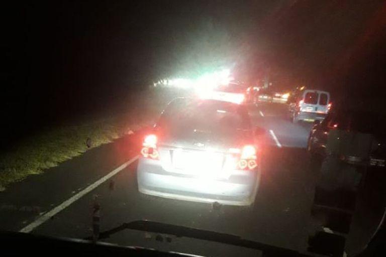 Vuelco fatal en la Ruta 2: un niño de 11 años murió en el accidente