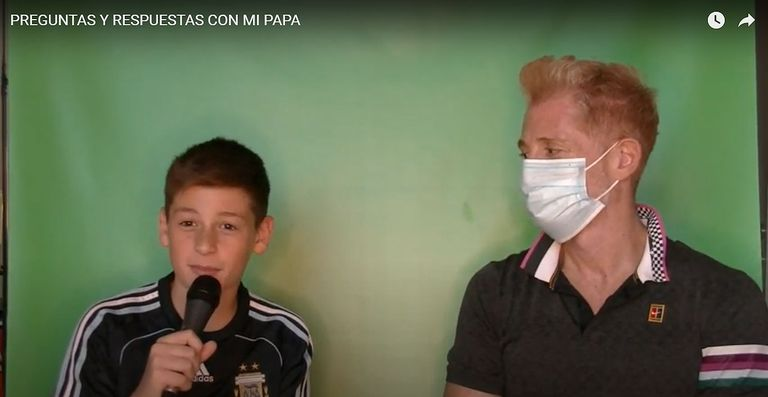 """La divertida entrevista que Martín Liberman le dio a su hijo: """"Te doy tips"""""""