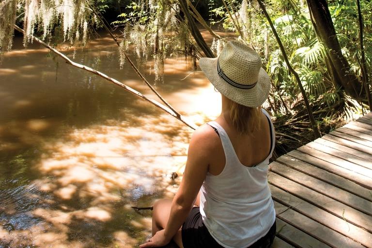 Delta Terra es una reserva natural con propuestas para conocer la flora y fauna local.
