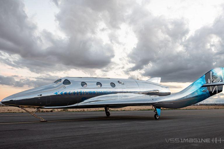 VSS Imagine, el primer avión espacial clase III (SpaceShip III) de la flota Virgin Galactic