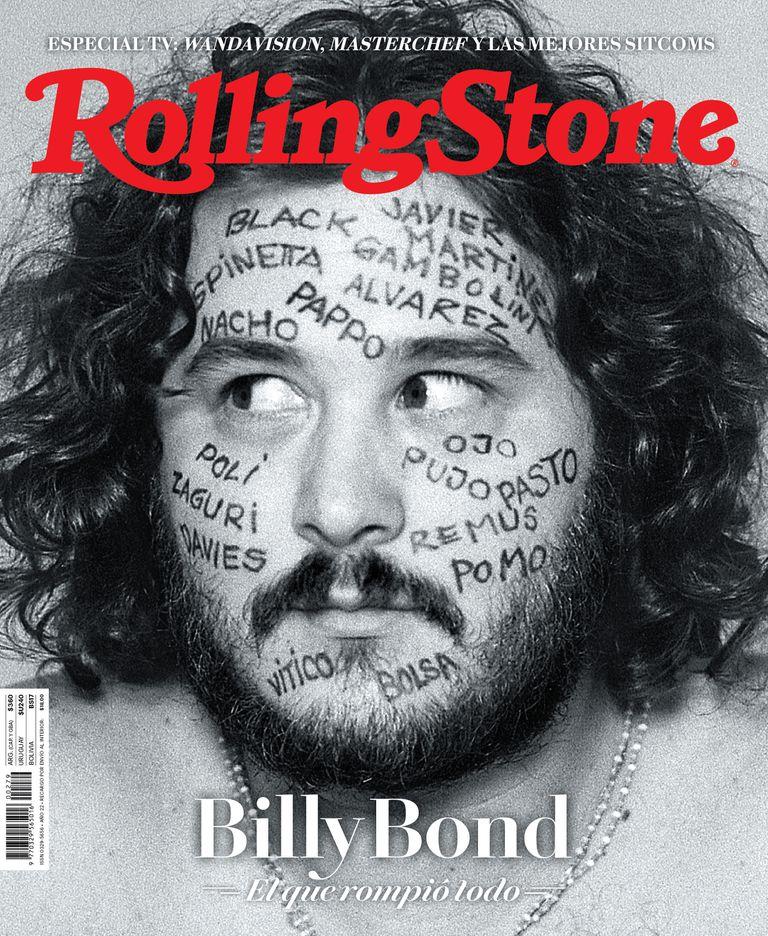 Billy Bond en la portada de la edición de junio de Rolling Stone