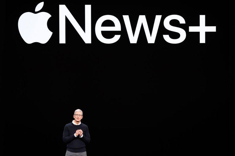 El nuevo servicio de suscripción de noticias de Apple se llama News+
