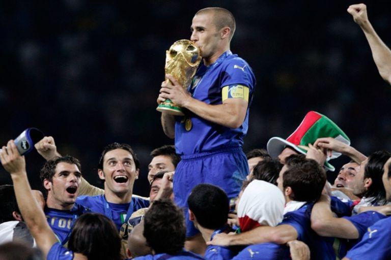 """Cannavaro y una anécdota sobre el trofeo de la Copa del Mundo: """"Lo rompimos"""""""