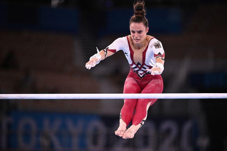 Las gimnastas alemanas, con ropa de cuerpo entero, reabrieron el debate