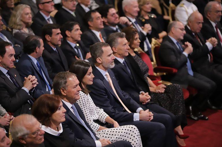 El Rey Felipe VI y Macri destacaron el poder de unir que tiene la lengua