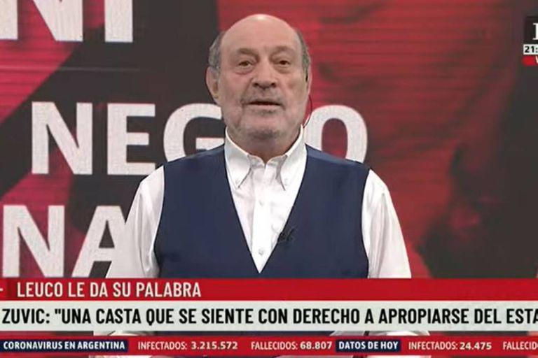 Alfredo Leuco se refirió a las palabras de Carlos Zannini, quien dijo que no se arrepentía de haber recibido la vacuna Sputnik V cuando por edad y cargo no le correspondía