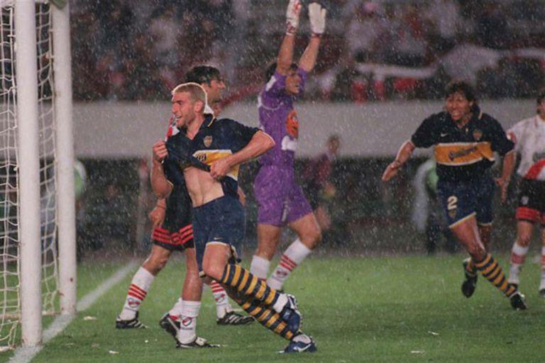 En ese torneo, el Apertura 97, Martín Palermo también le convirtió un gol a River