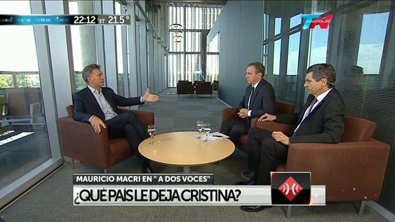 Mauricio Macri en TN