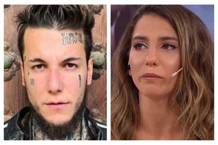 El grosero mensaje de Alex Caniggia contra la candidatura de Cinthia Fernández