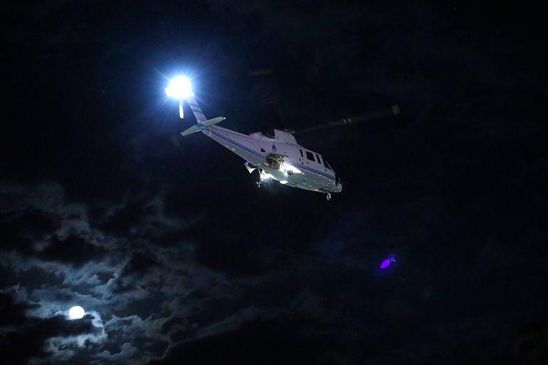 Registros que vio LA NACION muestran que el 12 de enero fue a Chapadmalal en el helicóptero H01. Una versión indica que el viaje se tendría que haber hecho en avión, pero no había unidades disponibles.