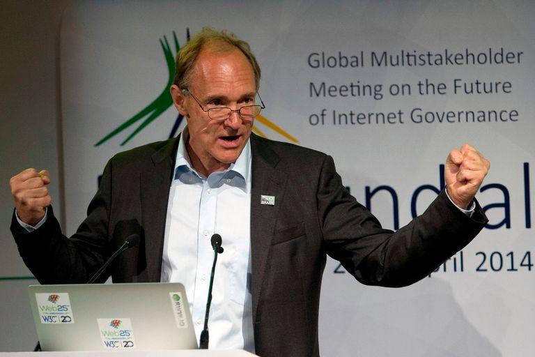 Tim Berners-Lee, el creador de la Web, fue uno de los oradores del encuentro