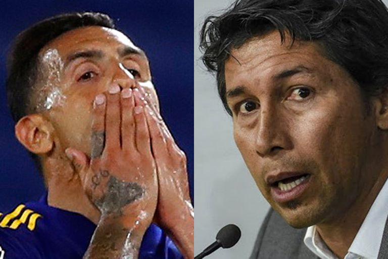 Tevez y Bermúdez chocaron mediáticamente durante la negociación del último contrato