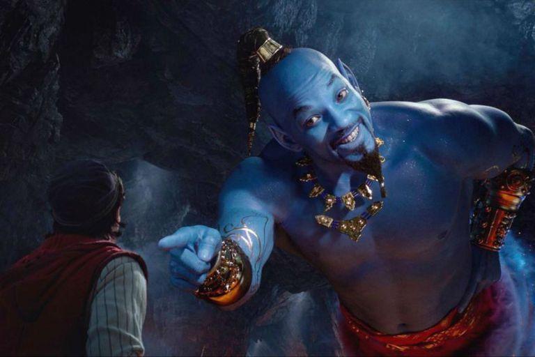 Salió un nuevo trailer de Aladdin y el genio se roba toda la atención