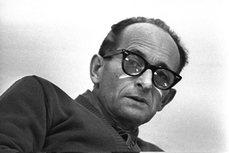 Adolf Eichmann, poco antes de ser ejecutado en la horca
