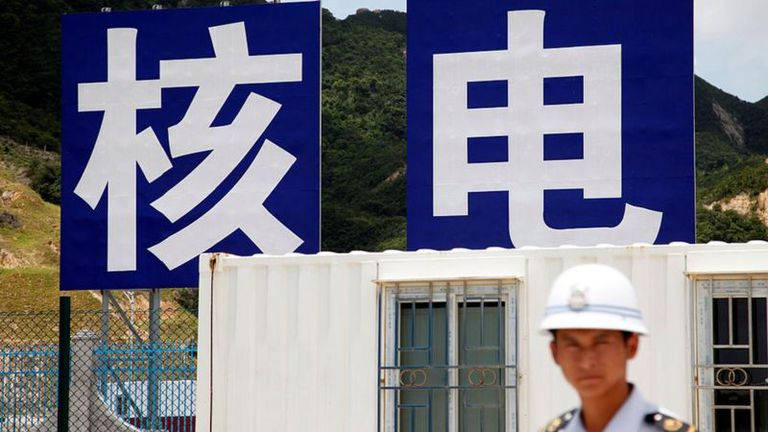 La planta nuclear de Taishan comenzó a construirse en 2009 y entró en operaciones en 2018.