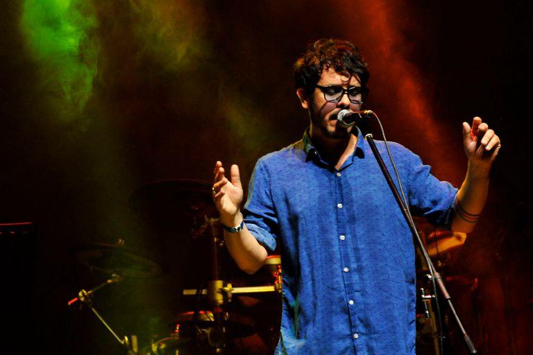 """Lisandro Aristimuño también le puso la voz a una de las canciones de León Gieco, """"Maestras de Jujuy"""""""
